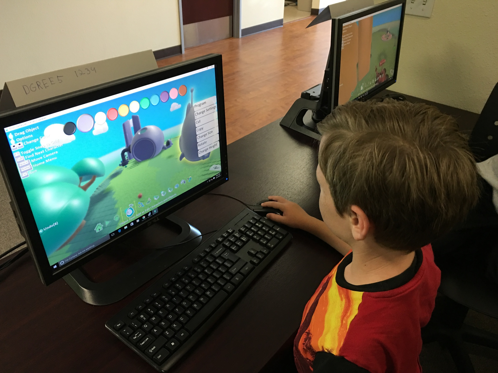Game Designing at the Center