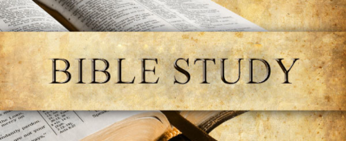 Wednesday Mid-Week Bible Study is back!  Time: 12:00 noon & 6:00 p.m.