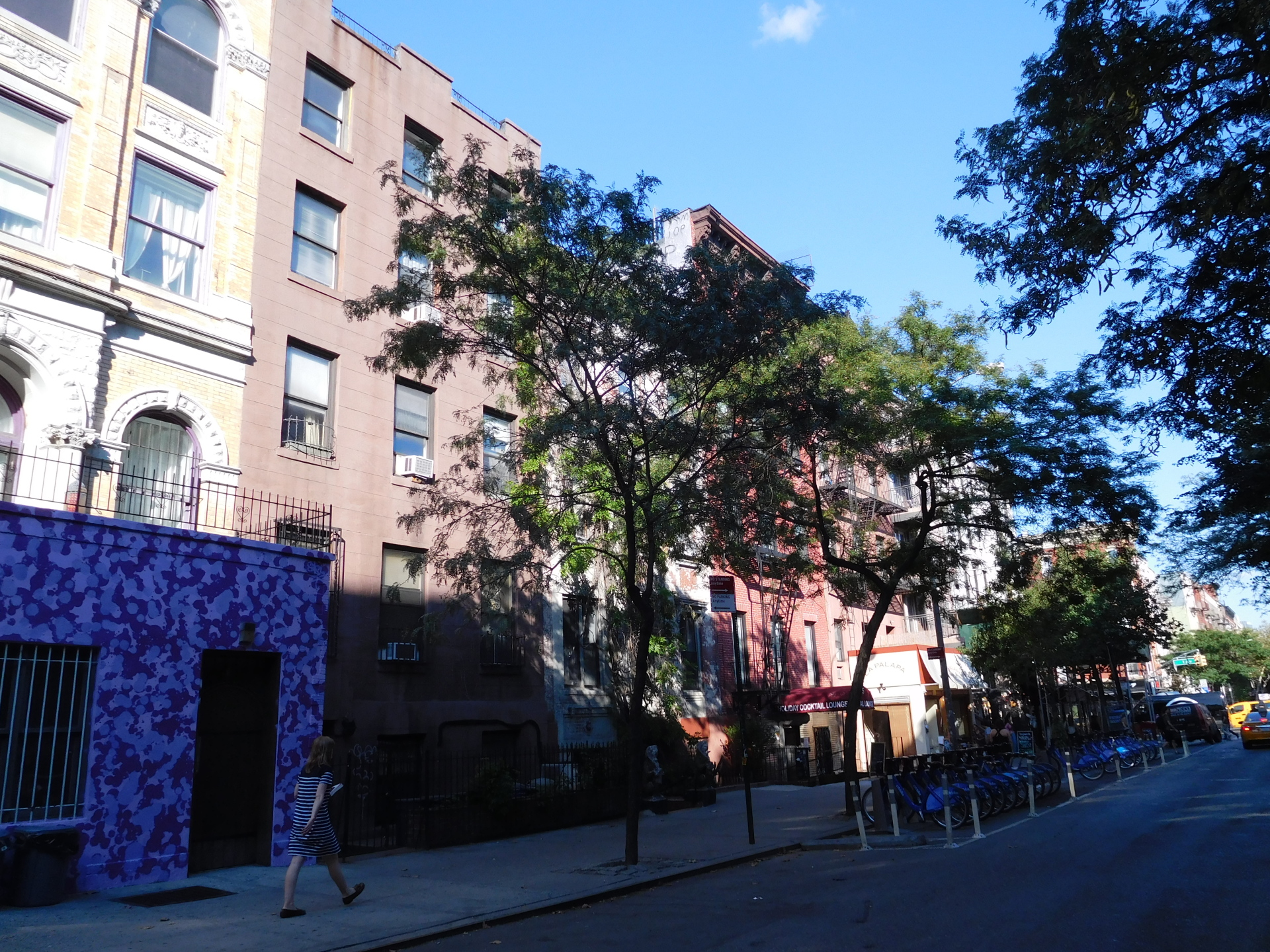 Apartment Building on St. Marks Place (8th Street)