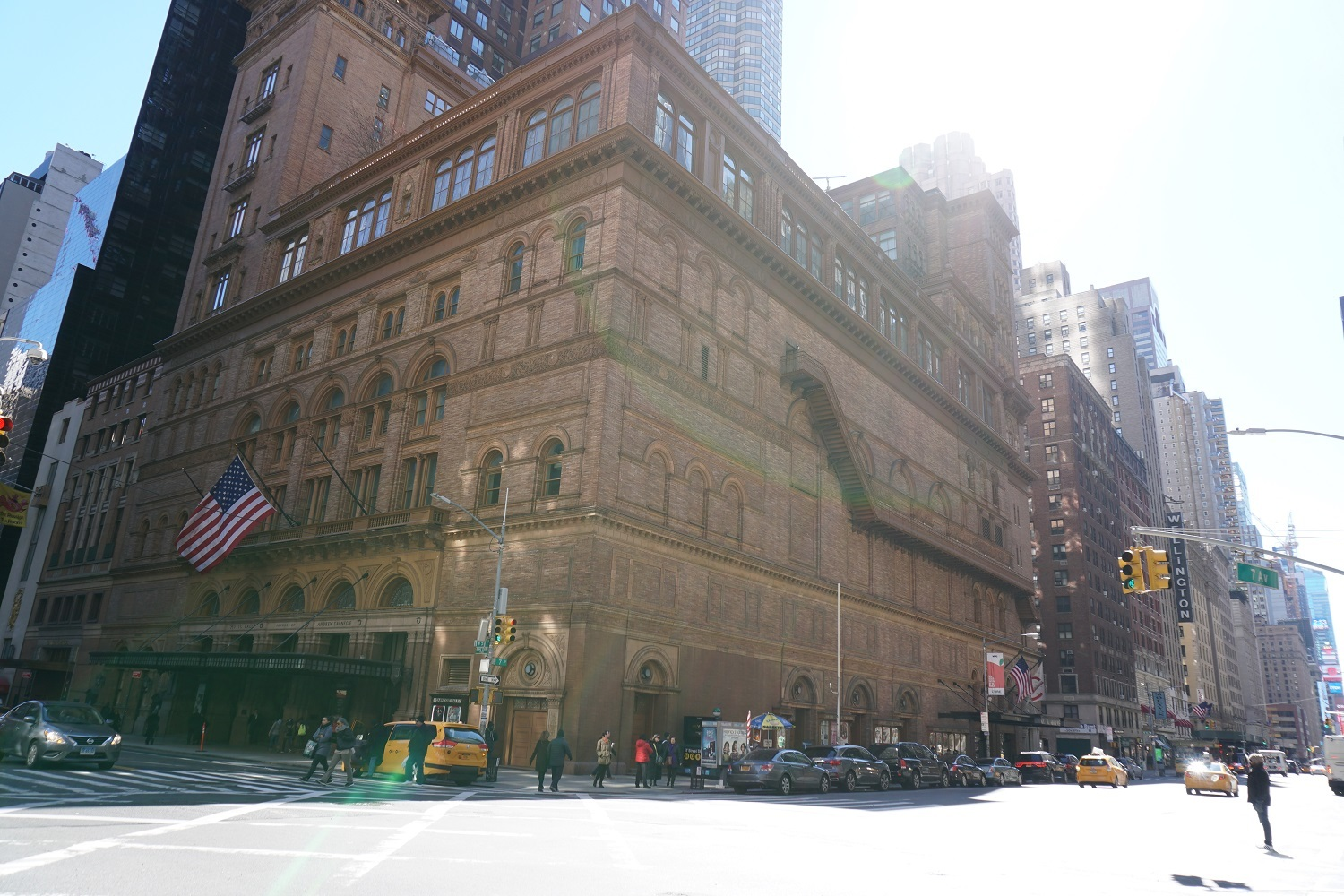 Building next to Carnegie Hall