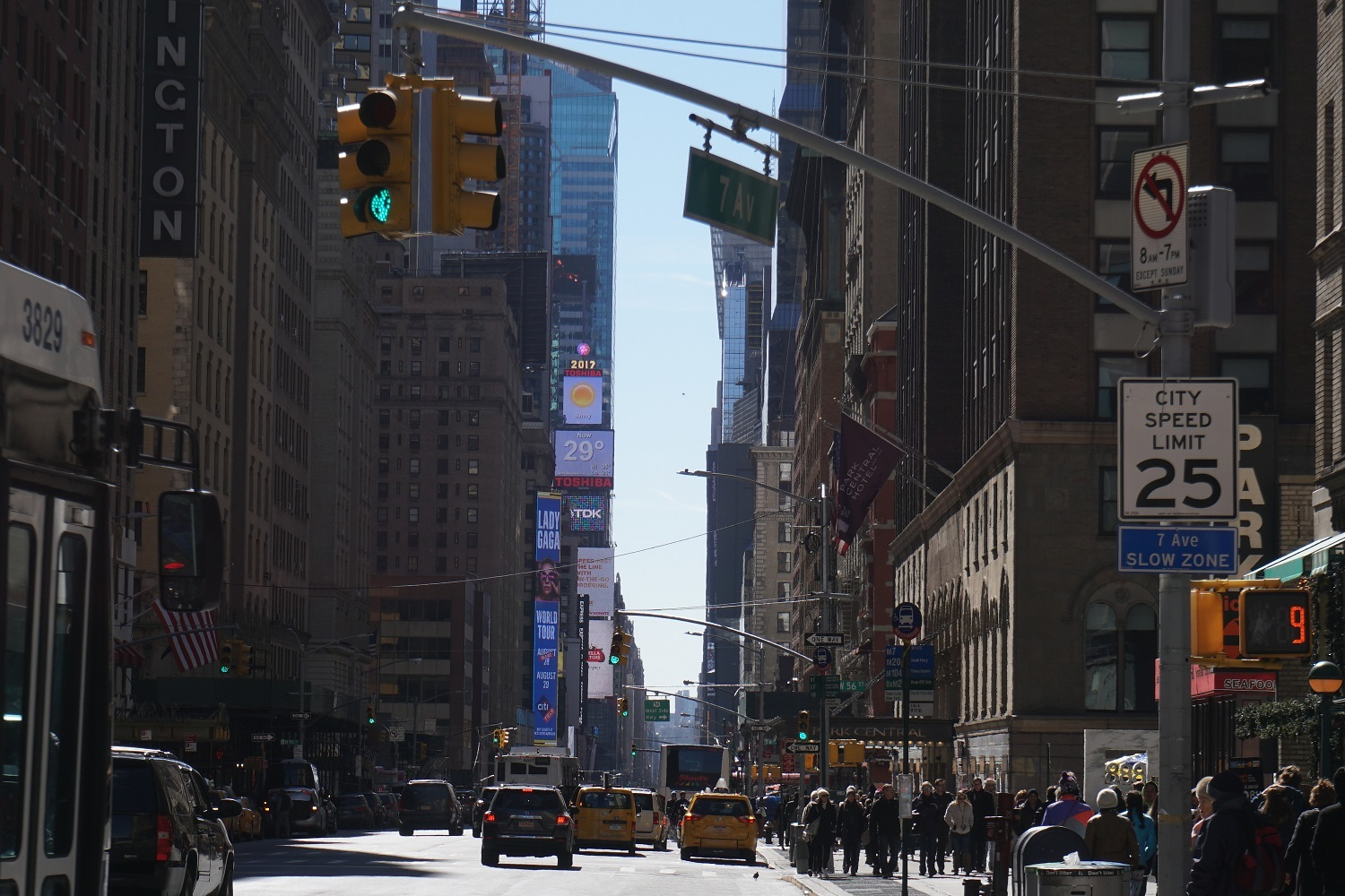 Close to Times Square, Restaurants, Theatres
