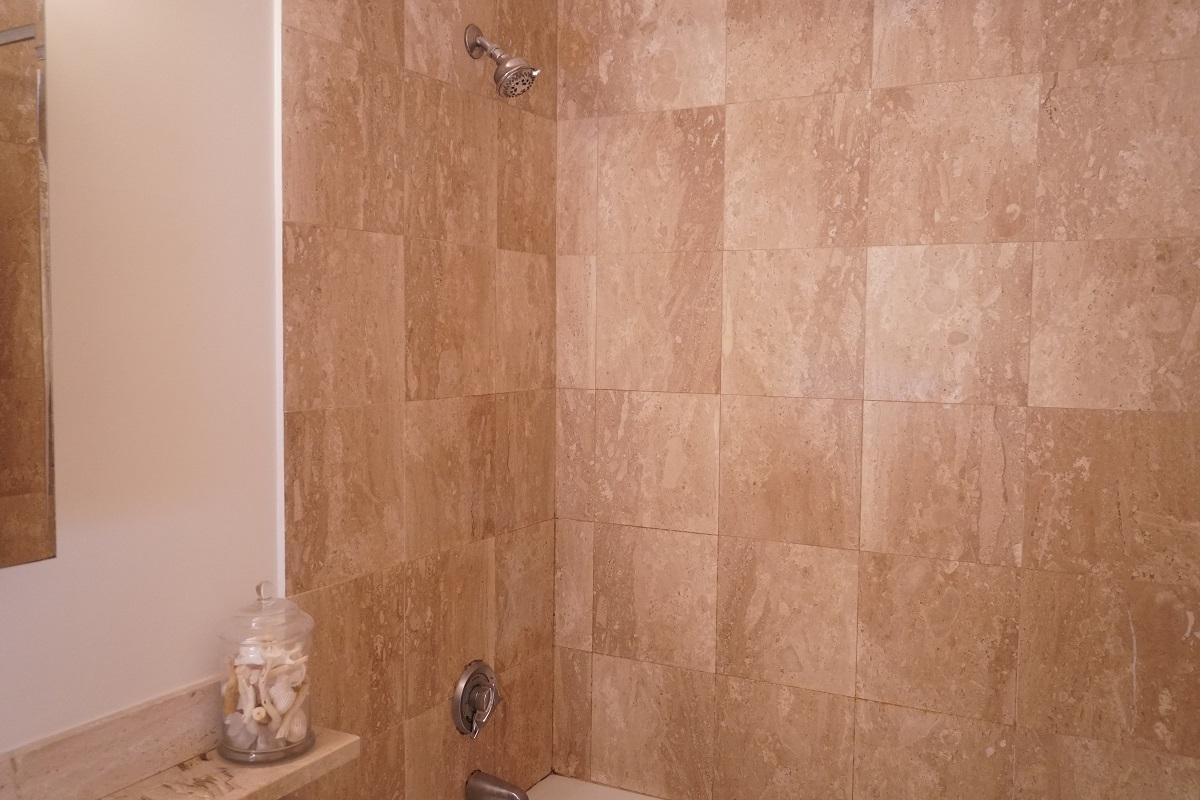 Marble Wall of Bathroom