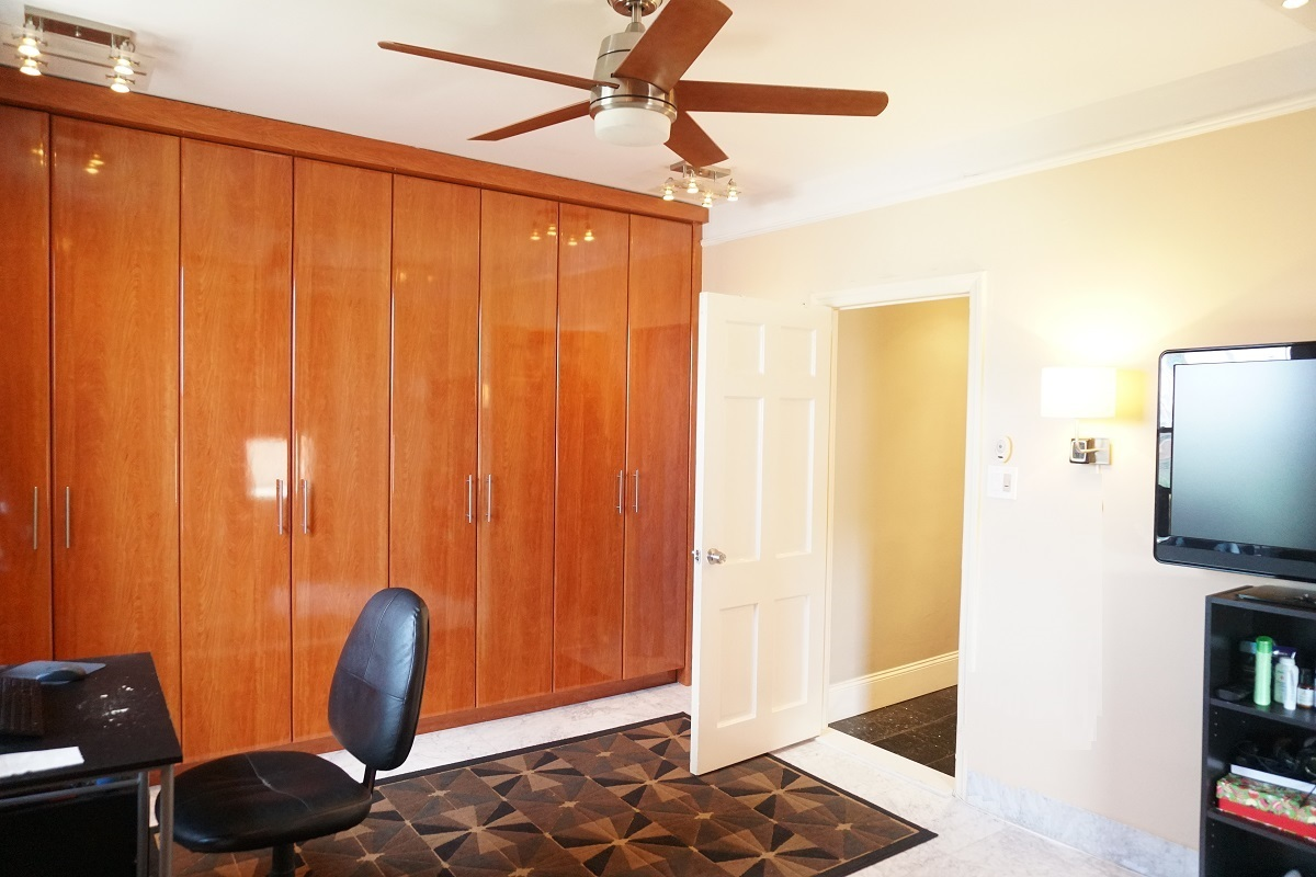 Custom Made Floor-to-ceiling Cabinet/Closets in the Bedroom
