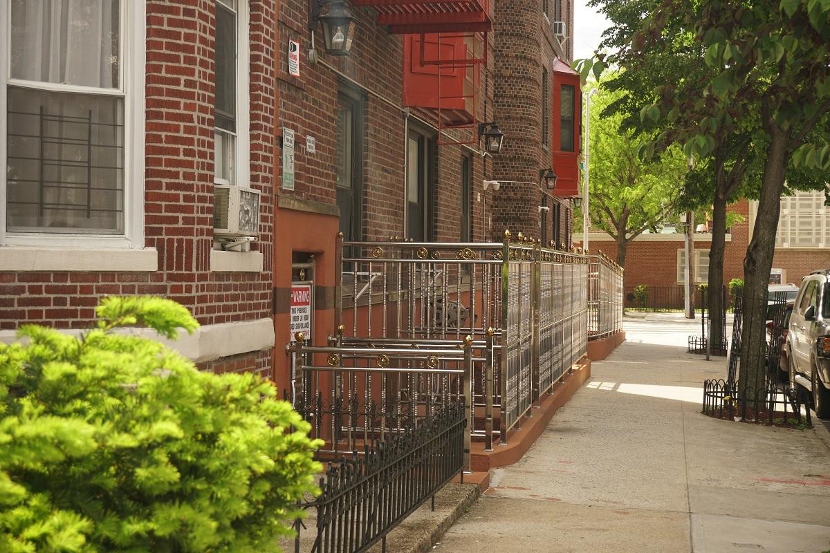 Sidewalk of Condominium Building