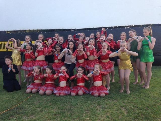 Christmas Carols Dance Group shot