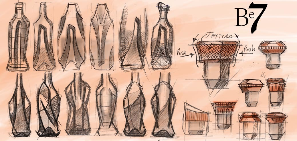 bottle design, closure design, Industrial design, Product design, creative design consultant, visualization consultant, munich, rendering