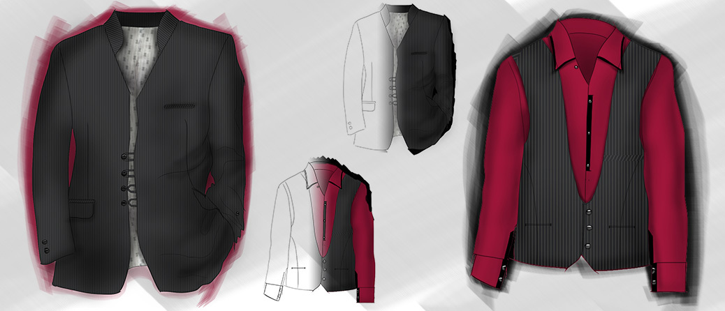 suit design, fashion design, Industrial design, Product design, creative design consultant, visualization consultant, munich, rendering