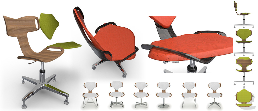 Chair design, Industrial design, Product design, creative design consultant, visualization consultant, munich, rendering
