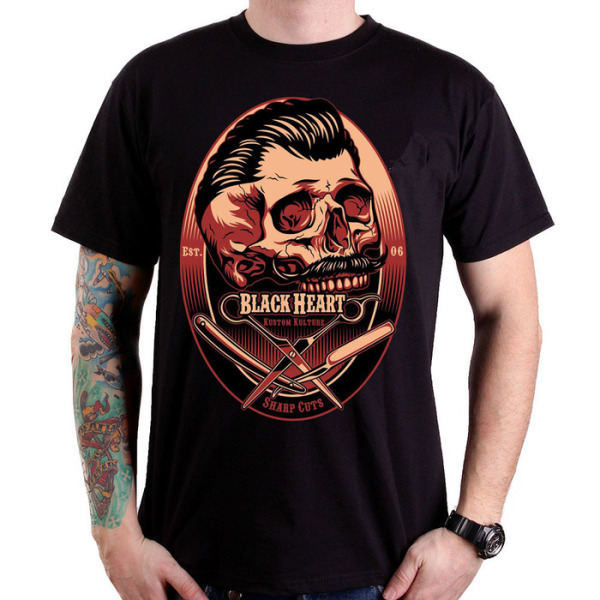 Black Heart Barber T Shirt £15,00