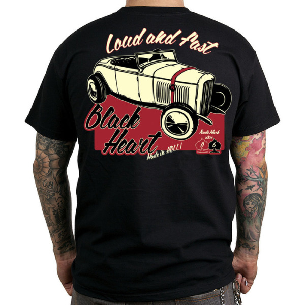 Black Heart Loud + Fast T Shirt £15.00