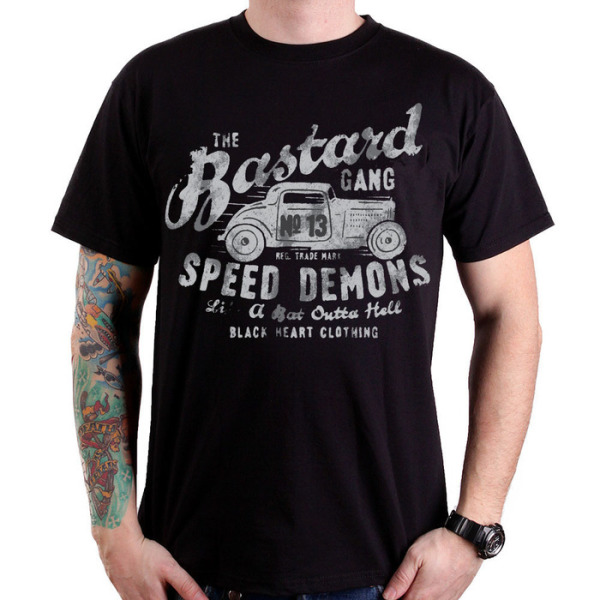 Black Heart Speed Demons T Shirt £15.00
