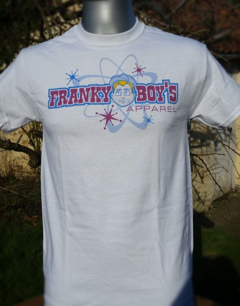 Franky Boy`s Apparel Burgundy Logo Mens T Shirt £15.00