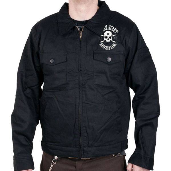 Black Heart Mens Roadster Jacket £47.00 (front)