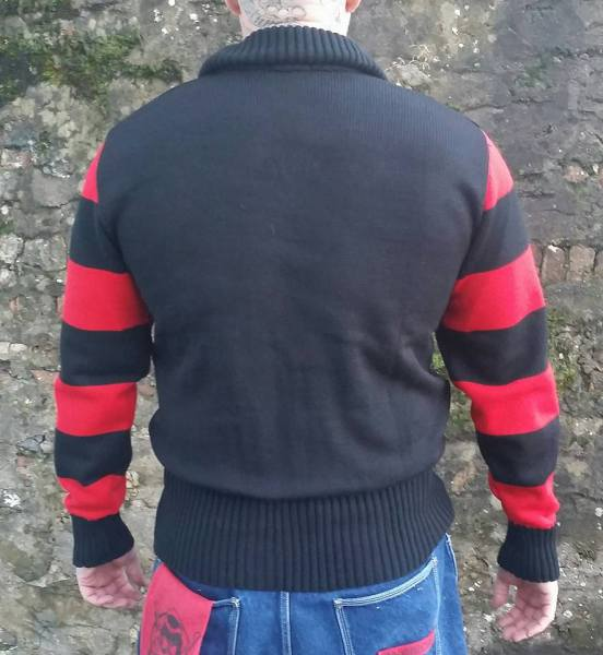Franky Boy`s Apparel Mens Racing Sweater £55.00 CURRENTLY OUT OF STOCK