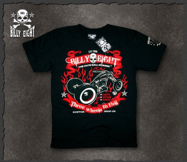 "Billy Eight ""Hell Wheels"""