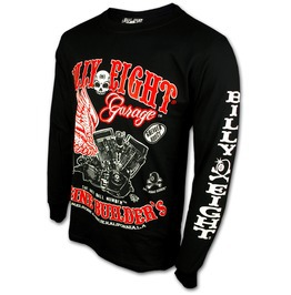 "Billy Eight ""Garage Builders"" Long Sleeve T Shirt"