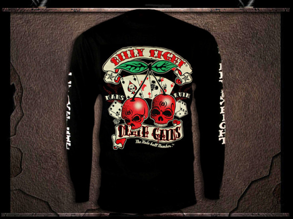 "Billy Eight ""Killer Cherry"" Long Sleeve T Shirt"