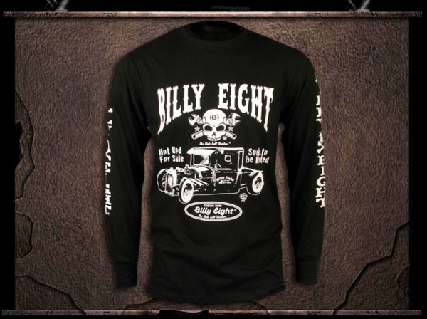 "Billy Eight ""Original"" Long Sleeve T Shirt"
