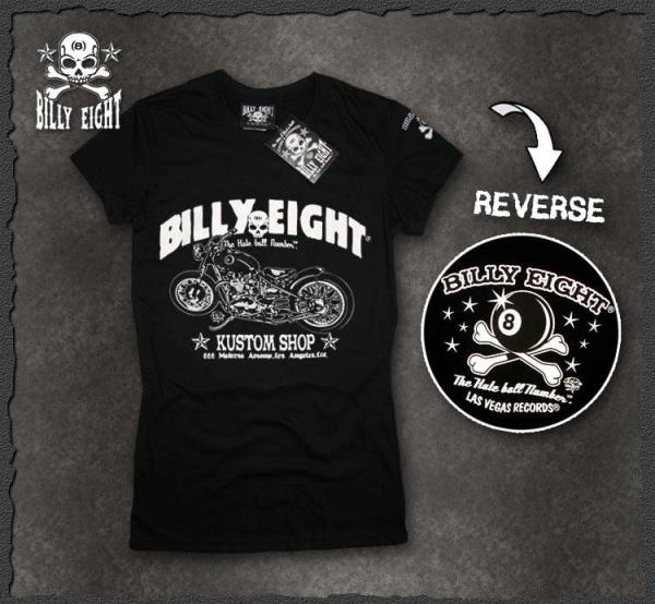 "Billy Eight ""Kustom Shop"" ladies T Shirt"
