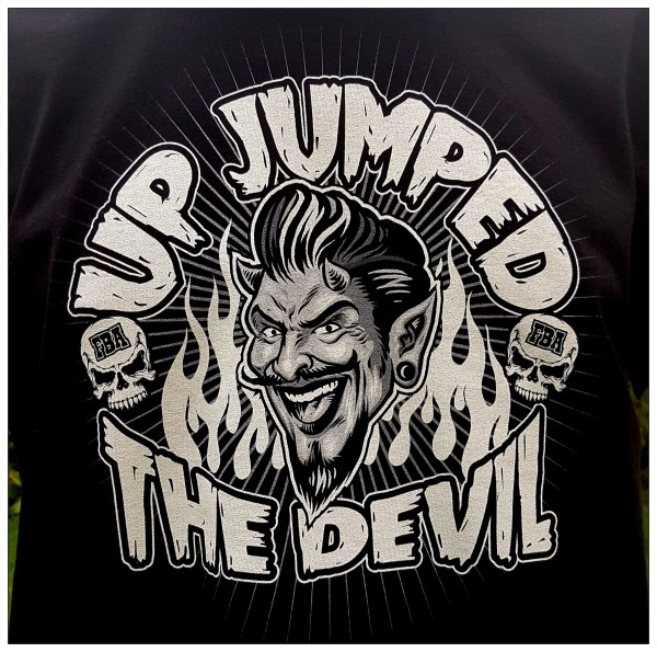 Franky Boy`s Apparel Up Jumped The Devil Unisex T Shirt