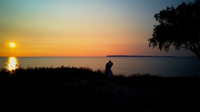 Mary + Chris - Northern Michigan Wedding Video