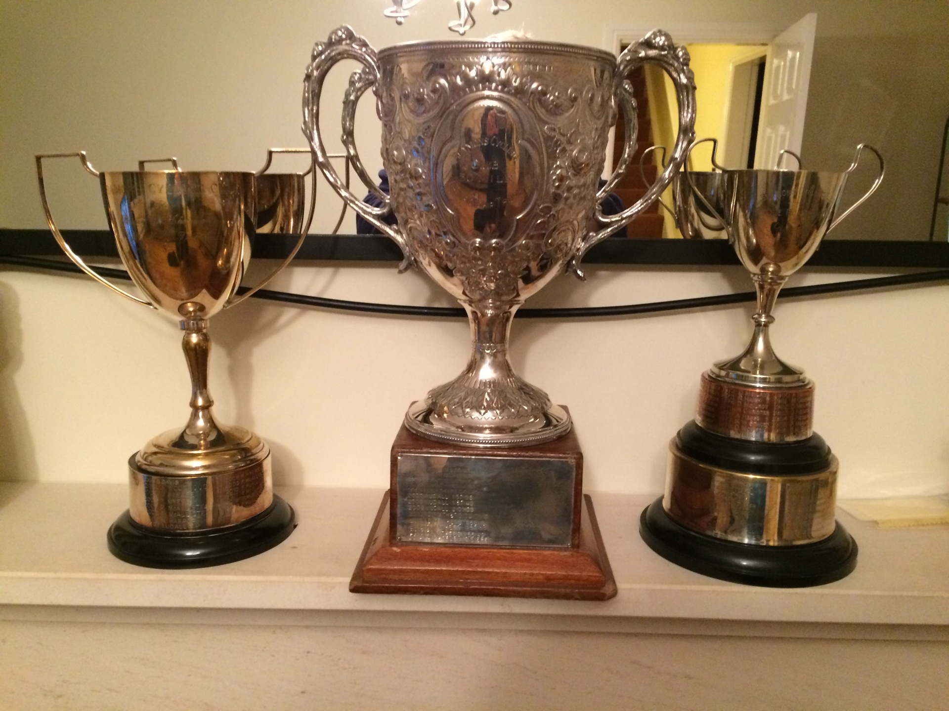 Club championship trophy haul 2014