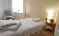 Susan Edwards therapy room at York House, Taunton, Somerset