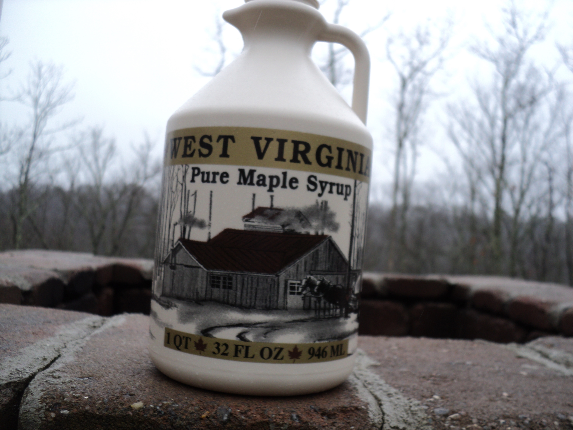 1 Quart Pure WV Maple Syrup