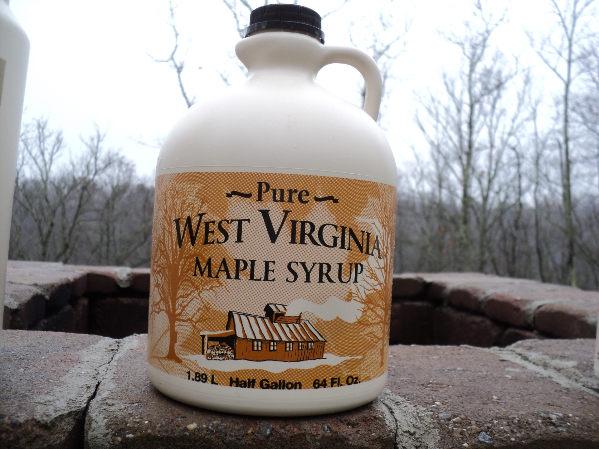 1/2 Gallon Pure WV Maple Syrup