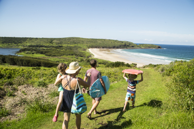 The Farm, iconic surf beach at Shellharbour