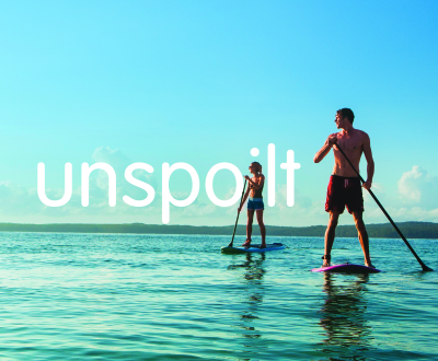 Stand-up Paddleboarding on Jervis Bay, Shoalhaven