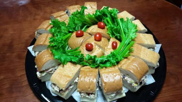 Chicken Salad Sub Tray