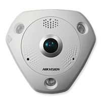 Hikvision Fisheye Security Camera