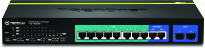 TRENDnet Power over Ethernet network switch, security cameras