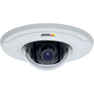 Axis Communications dome security cameras