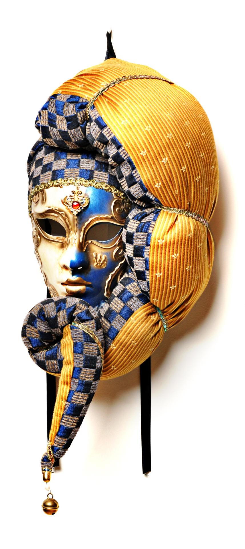 Volto Ventaglio Gold/Blue $229