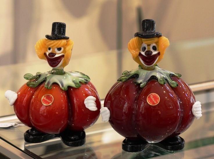 Murano Clowns