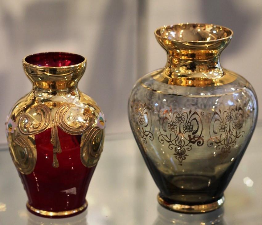Enameled Vases