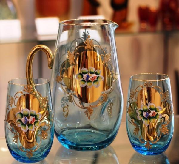 Enameled Glassware