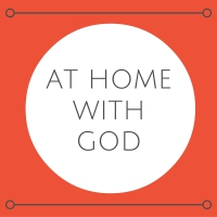 At Home With God logo