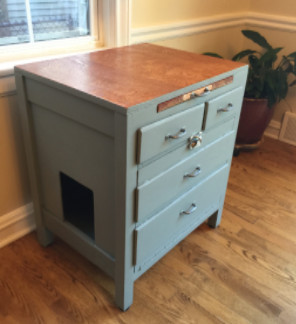 Green/Gray Cabinet