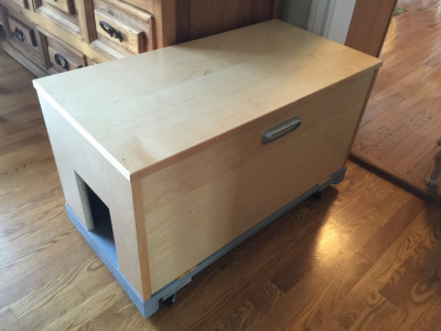 IKEA Birch Cabinet