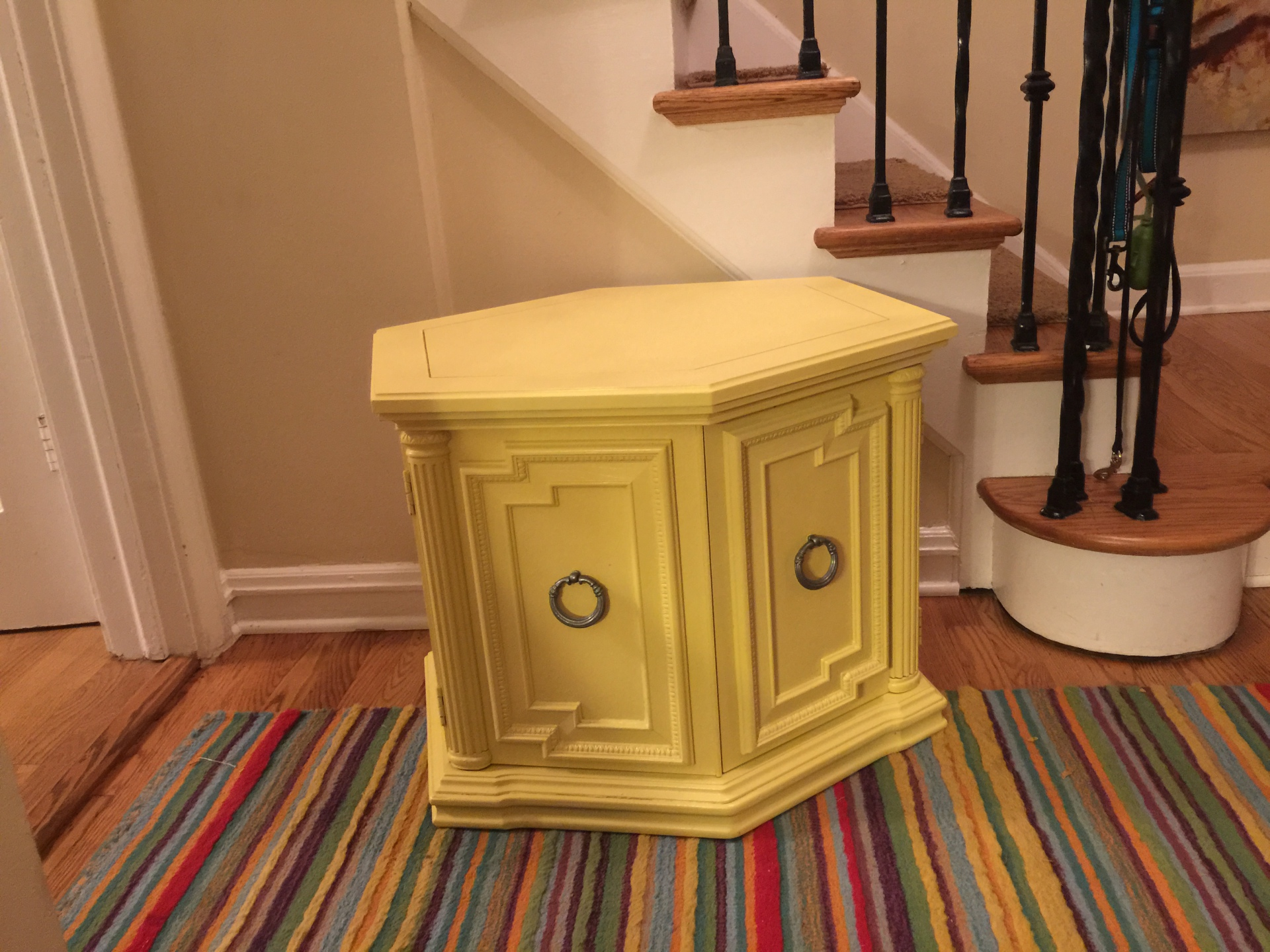 SOLD - Yellow Octagon
