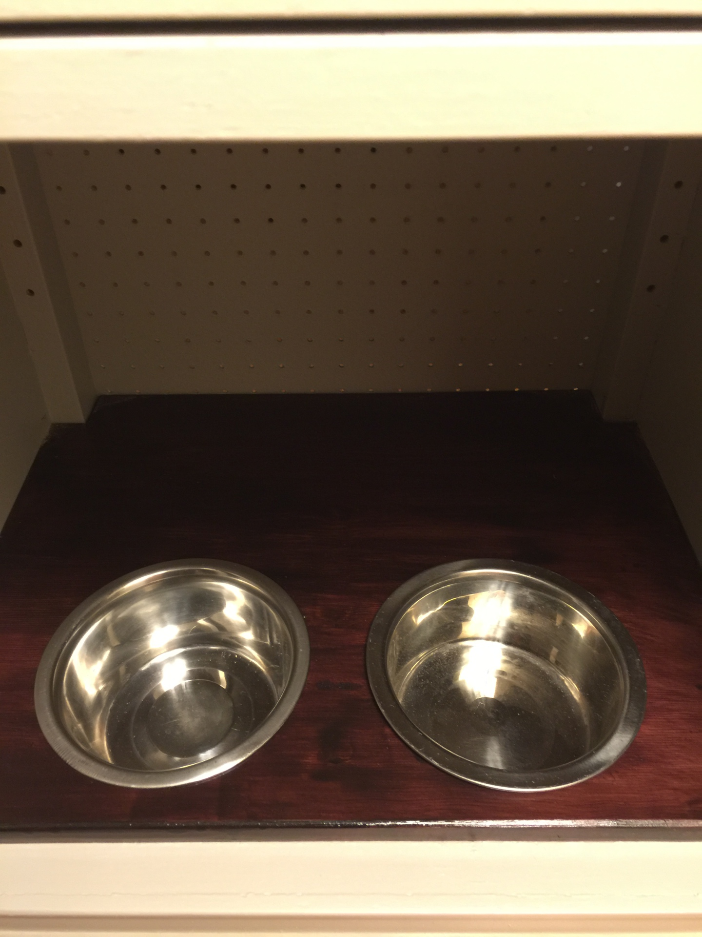 Recessed Dog Dishes