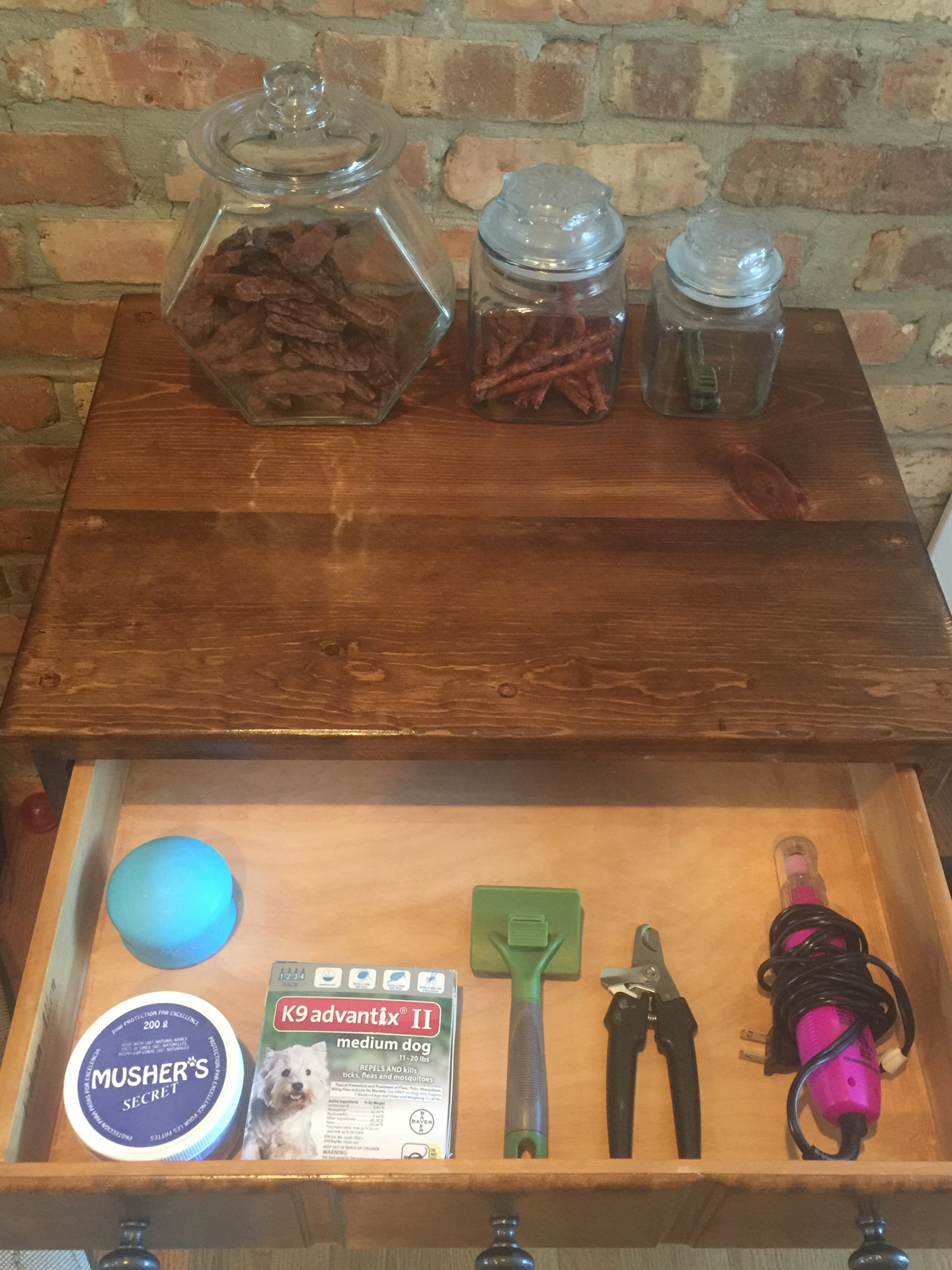 Top Drawer for Dog Supplies