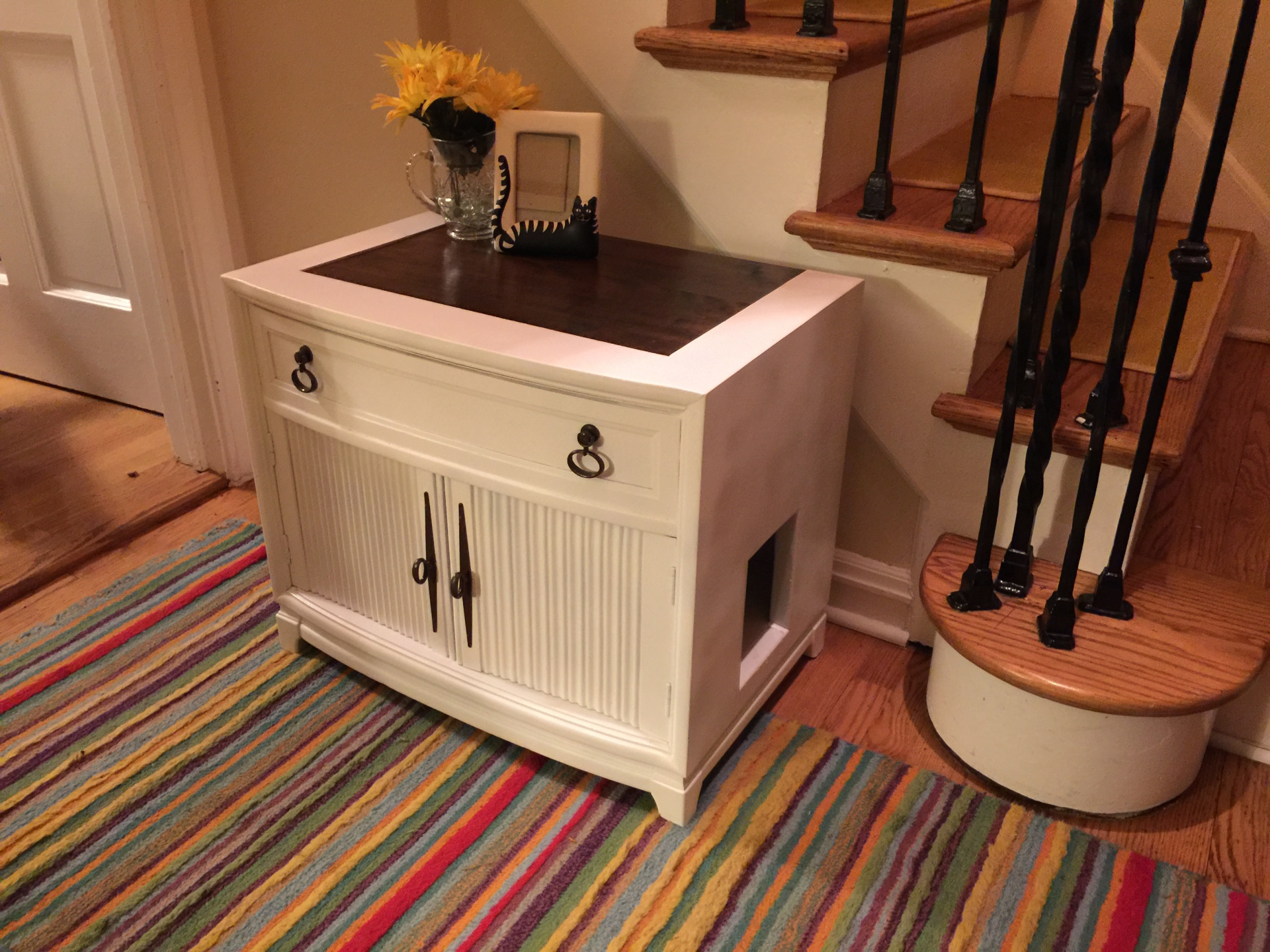 SOLD - Small End Table/Night Stand Style $255