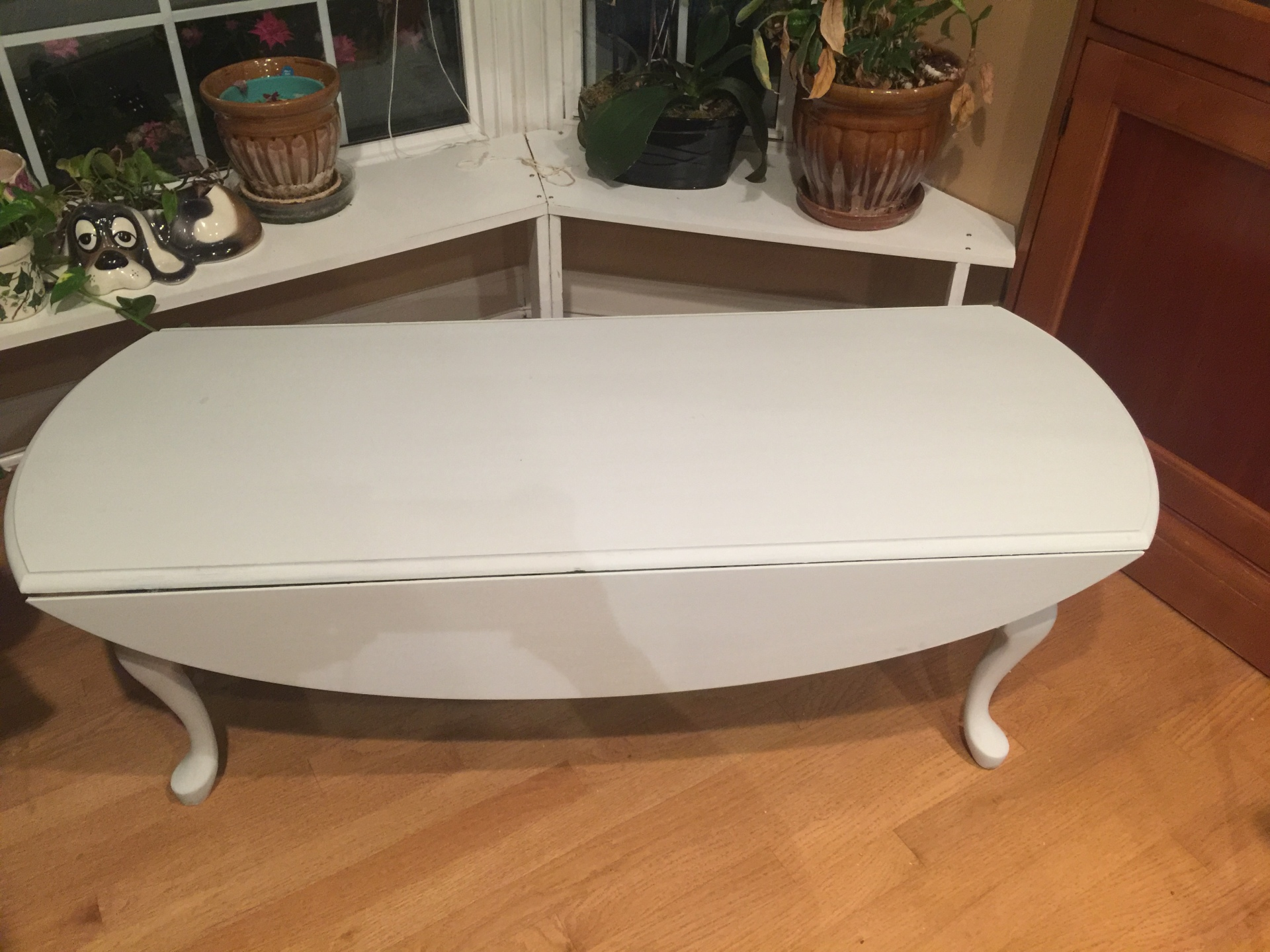 Light Gray Coffee Table $55