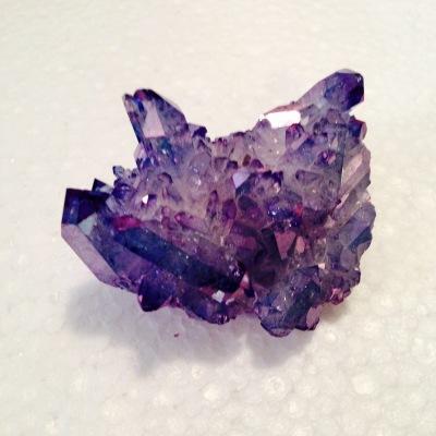 Lavender Quartz Cluster
