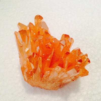 Orange Quartz Cluster