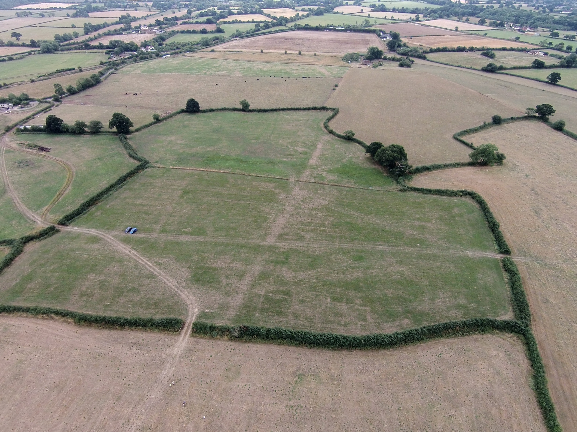 Crop Marks, South Gloucestershire